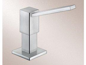 Dávkovač saponátu Blanco QUADRIS nerez masiv matný 517590