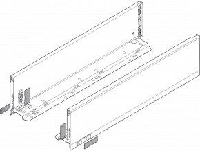 Bocnice M L+P 400 inox LEGRABOX pure