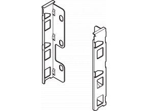 Drzak zad K L+P sedy polarni LEGRABOX pure