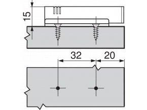 adapter blum blumotion primy 970.1201