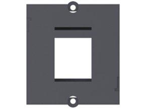 117 1 modul ramecek pro modulovou spojku 1x keystone 917 001