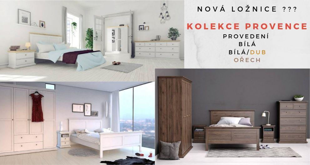 Kolekce Provence je vhodná pro každého, kdo preferuje romantický styl nábytku