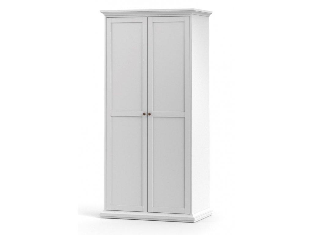 Šatní skříně do ložnice, klasické dveře s panty 2x