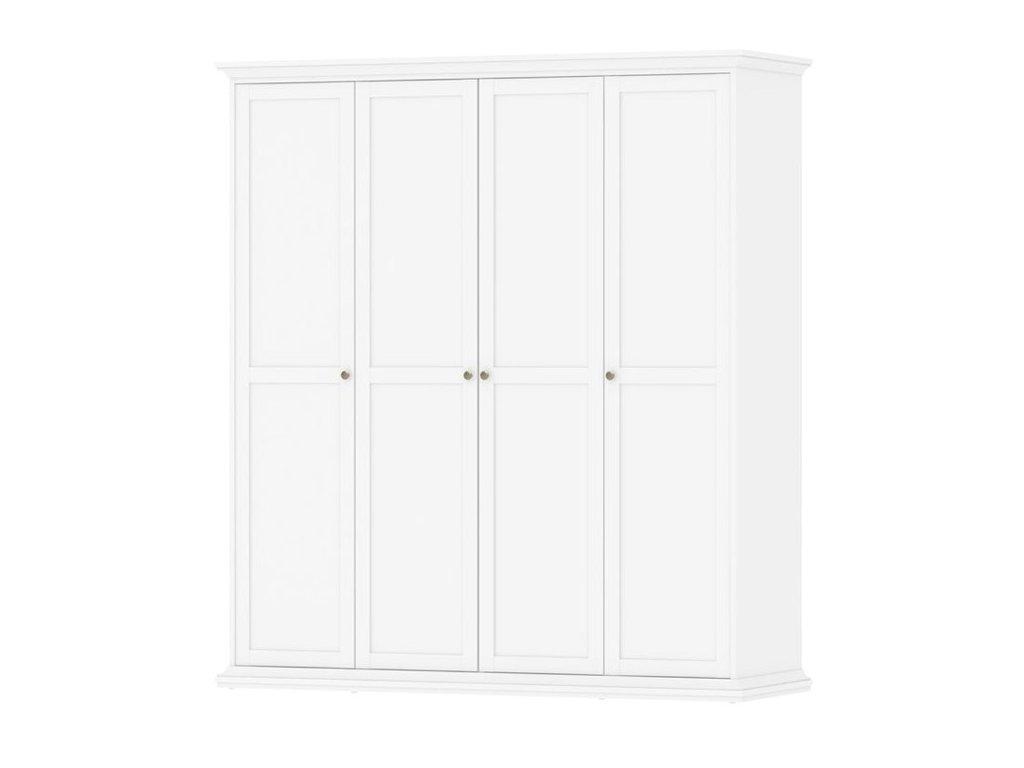 Šatní skříně do ložnice, klasické dveře s panty 4x