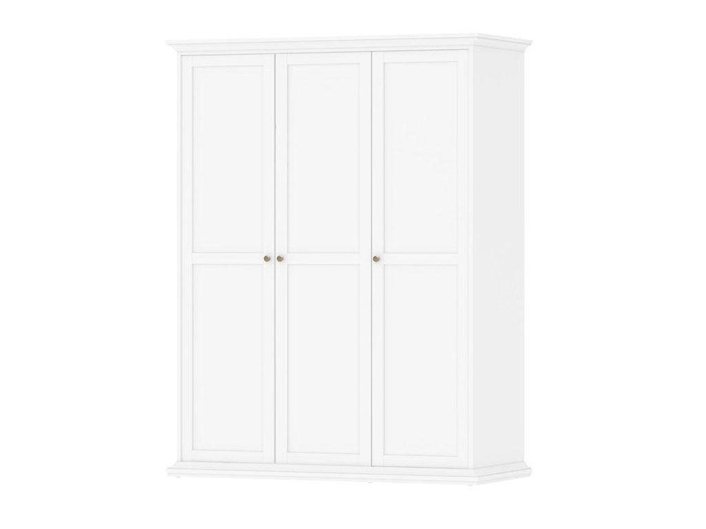 Šatní skříně do ložnice, klasické dveře s panty 3x