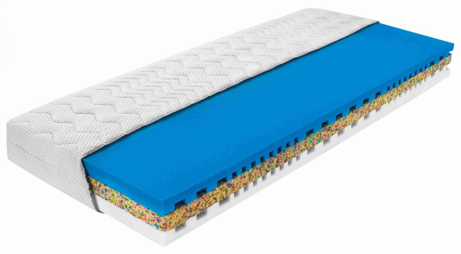 Pěnové a pružinové matrace o rozměru 100x200 cm