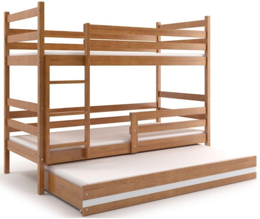 Palandy a patrové postele s přistýlkou