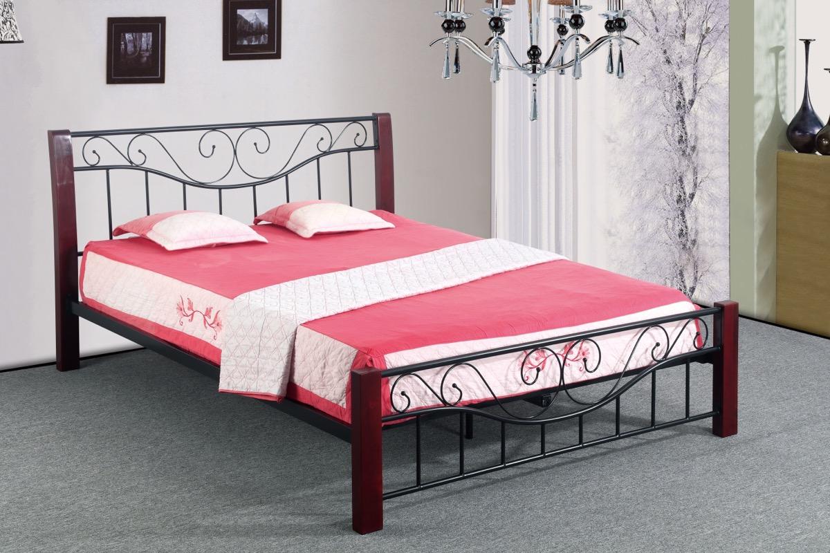 Kovoví rám postele 180x200 cm, manželský postele, dvoulůžka