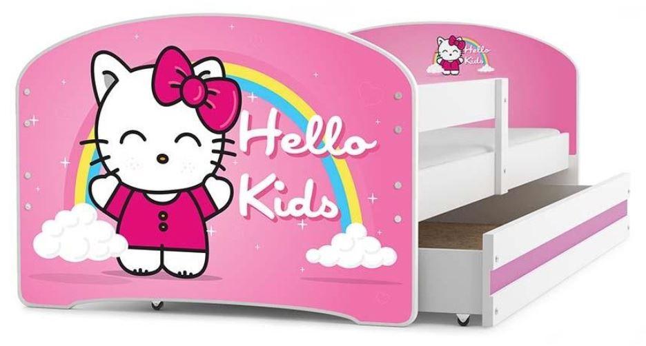 Postele pro menší děti 80x160 cm