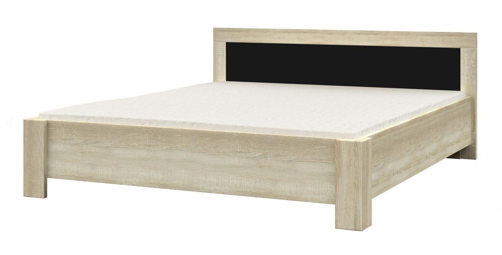 Postel - dřevěný rám lamino
