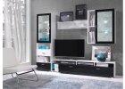 Moderní černobílá televizní sestava Stela