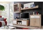 Menší obývací stěny Sylva - Vyniká moderním a elegantním vzhledem