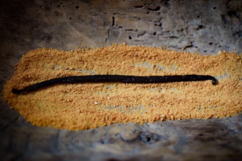 Vanilkový lusk a třtinový cukr