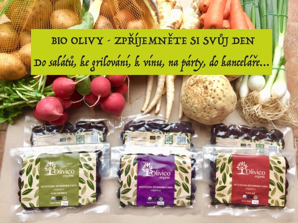 Široký výběr BIO oliv