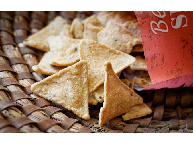 Kukuřičné chipsy ze žluté kukuřice Mexiko