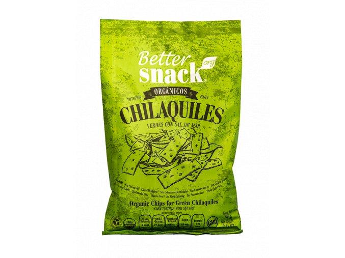 Produkt Kukuřičné chipsy %22CHILAQUILES%22 s mořskou solí