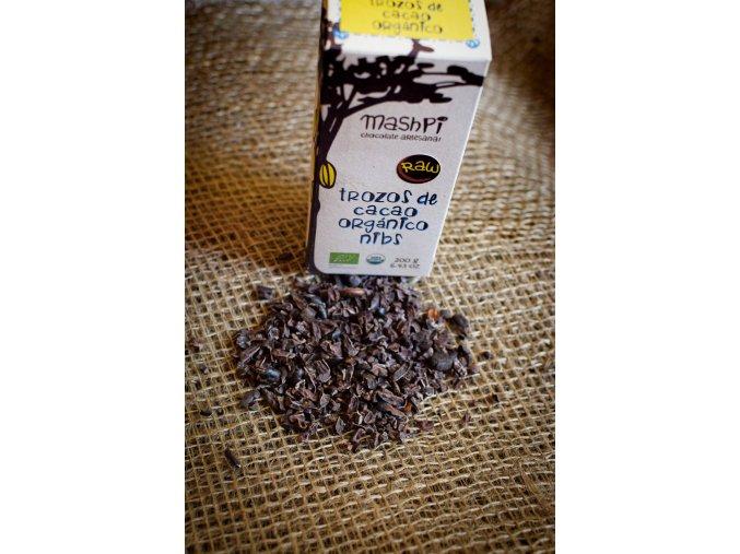 BIO RAW kakaové boby od pěstitele Ekvádor