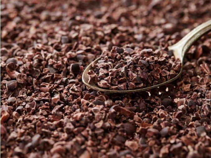 Kakaové boby kousky II