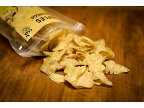 BIO banánové chipsy