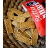 """Kukuřičné chipsy """"obdélníkové-CHILAQUILES"""" s chilli papričkami ancho (jemně pikantní) MEXIKO"""