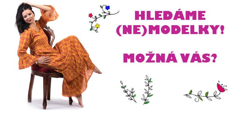 Hledáme modelky na focení šatů v Prostějově