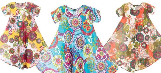 Letní šaty stvořené pro dovádění