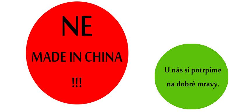 Šatům z Číny jsme řekli NE!