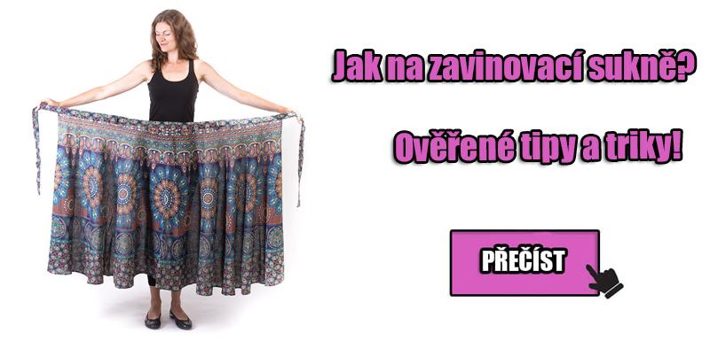 Jak nosit zavinovací sukně?
