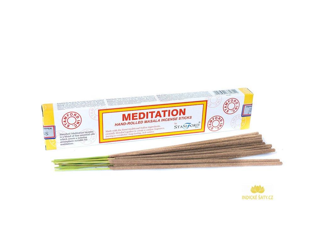 Vonné tyčinky Meditace