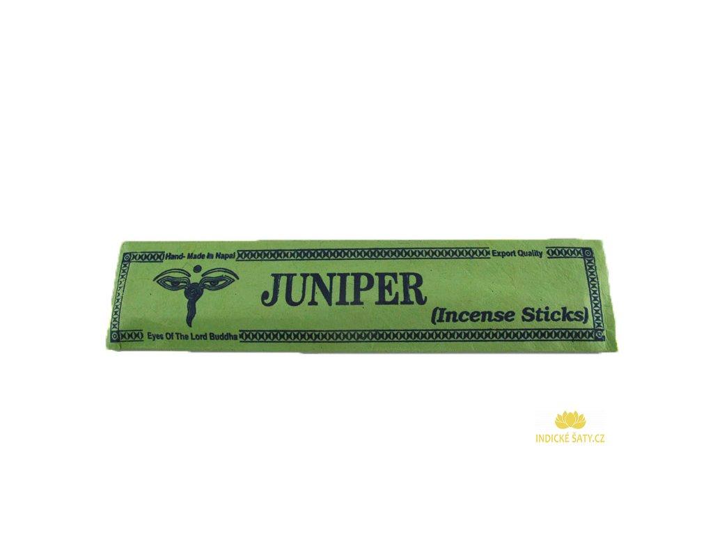 Vonné tyčinky Jalovec (Juniperus)