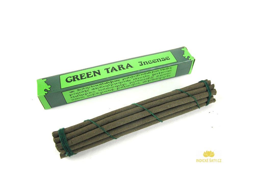 Vonné tyčinky Green Tara (bez dřívka)