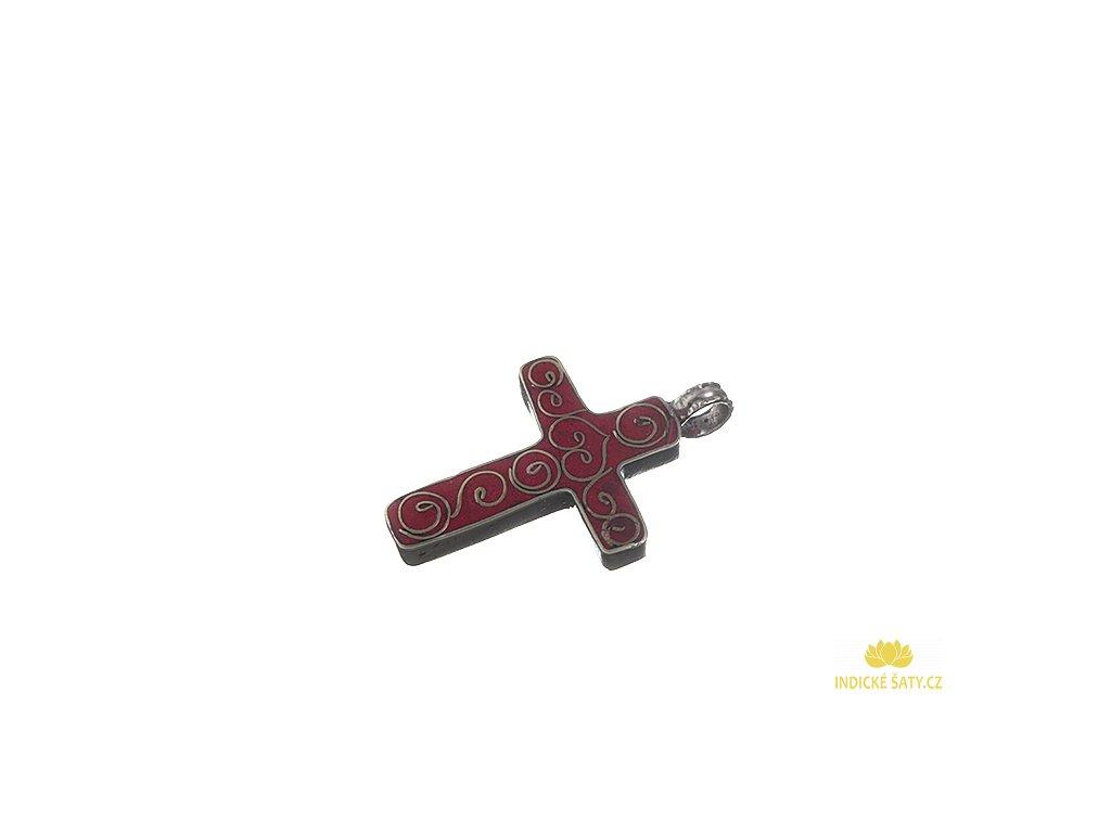 Ochranný tibetský amulet Kříž