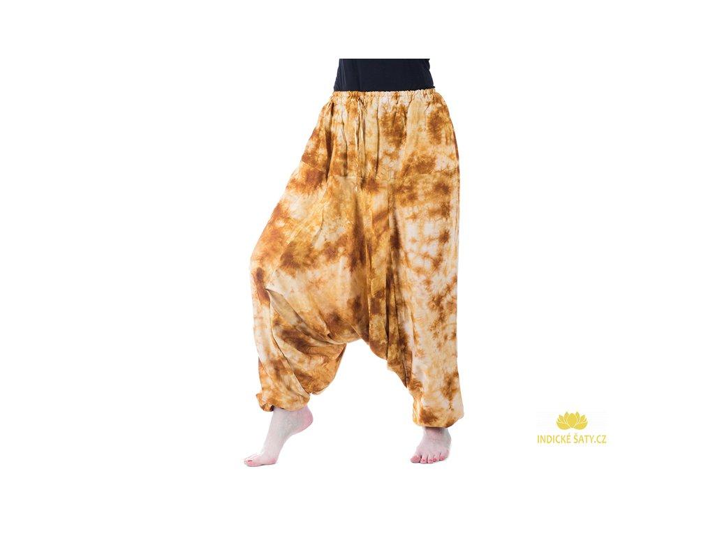 Aladinky batika hnědožluté