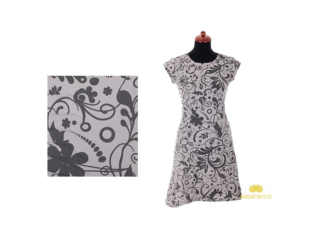 krátké šaty z organické bavlny