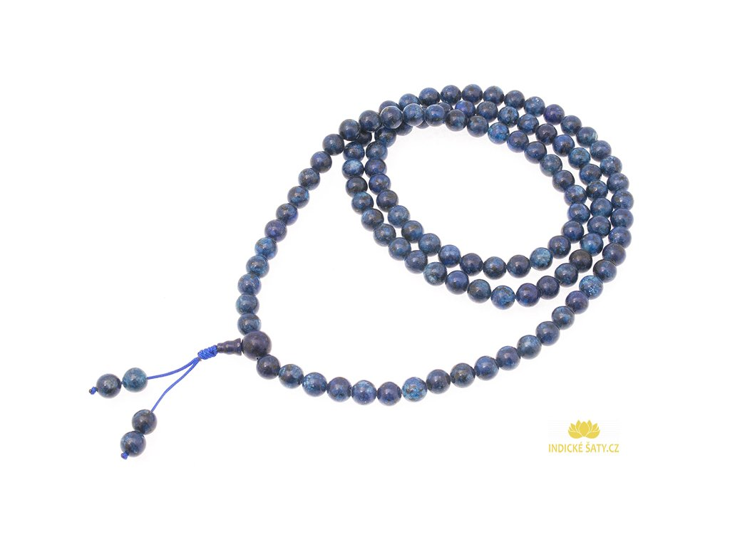 Japa mala z lapisu lazuli TOP kvalita