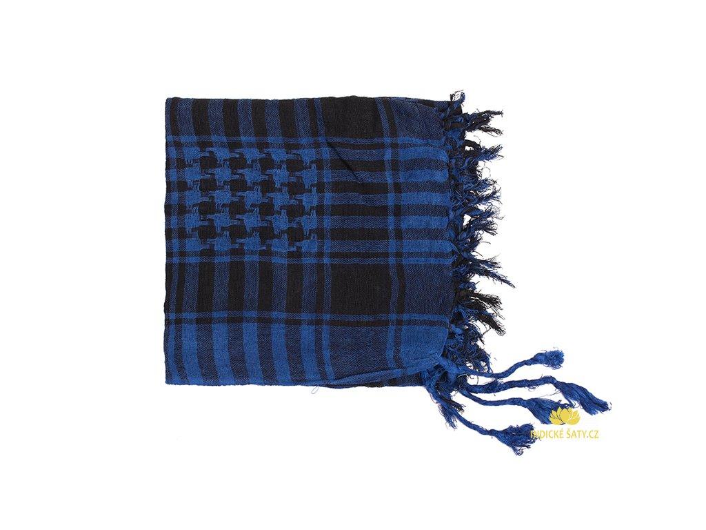 Šátek arafatka královsky modrý