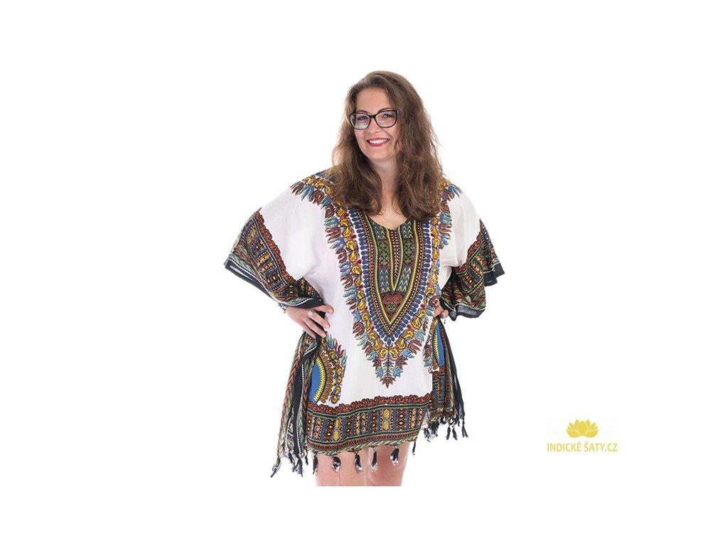 Tunika Africa style bílá