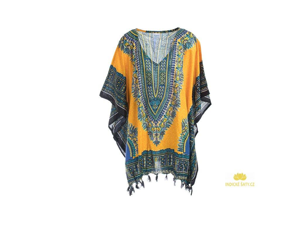 Tunika Africa style žlutá