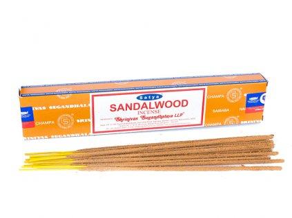 Vonné tyčinky Santalové dřevo (Sandalwood)