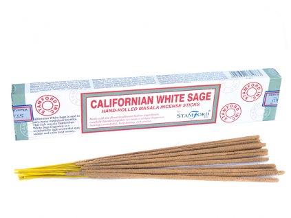 Vonné tyčinky Kalifornská bílá šalvěj (Californian white sage)