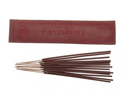 Vonné tyčinky Pačule (Patchouli) ORGANIC