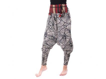 Harémové kalhoty boutique Black & white design