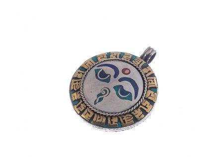 Ochranný tibetský amulet Buddhovy oči