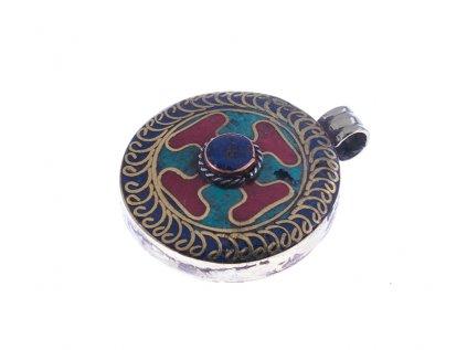Ochranný tibetský amulet (II.jakost)