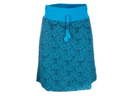 Krátká bavlněná sukně modrá