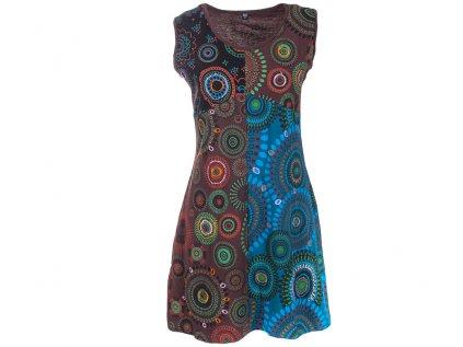 krátké etno šaty