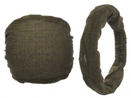 Látková čelenka do vlasů borovicová zelená