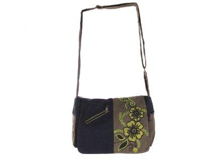Etno kabelka přes rameno Květina