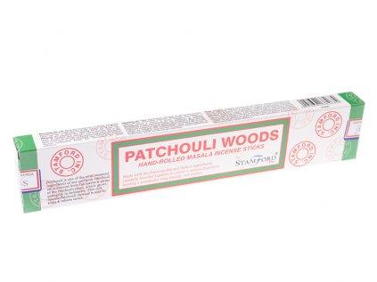 Vonné tyčinky Pačulové dřevo (Patchouli woods)