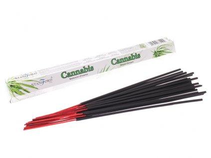 Vonné tyčinky Konopí (Cannabis)